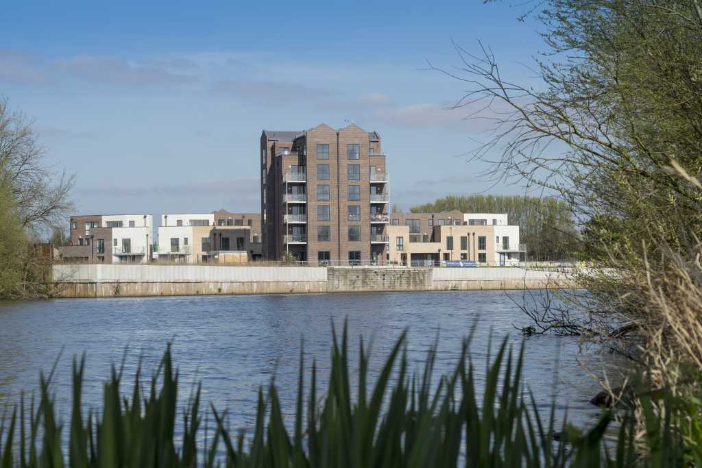 Trent basin nottingham waterside blueprint the project is located within nottingham waterside an area widely acknowledged as one malvernweather Choice Image